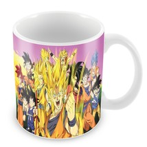 momentfrozen dragon ball z goku one piece naruto Tea Cups - $33.95