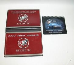 2000 Buick Park Avenue Factory Original Owners Manual Book Portfolio #32 - $17.77