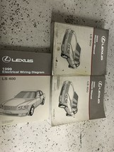 1999 Lexus LS400 LS 400 Service Shop Repair Workshop Manual Set EWD Worn - $128.70