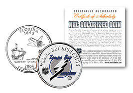 TAMPA BAY LIGHTNING NHL Hockey Florida Statehood Quarter U.S. Coin * LIC... - $7.66