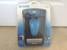 NEW! Factory Sealed Jensen Docking AM/FM For iPod Shower Radio-JiSS-85 L... - $29.58
