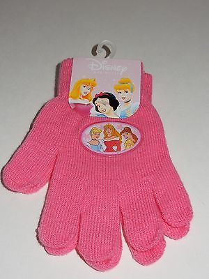Disney Princess Pink Winter Gloves NEW