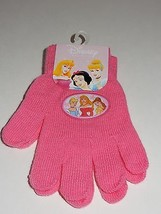 Disney Princess Pink Winter Gloves NEW image 1