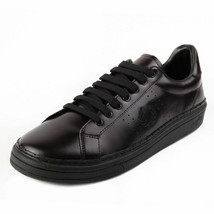 Fred Perry B721 High Shine Leather Men's Trainers Shoes B2085-158 - OX B... - $90.71