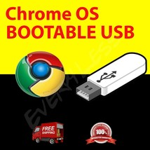 Chrome OS Chromium Live Boot USB Flash Drive Installer Upgrade Update Cr... - $12.86