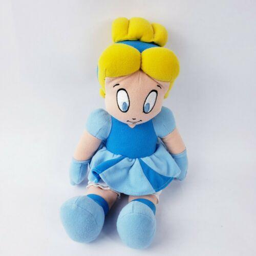Disney Store Cinderella Toddler Baby Plush blue dress #t11