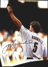 Jeff Bagwell authentic signed baseball 11X14 photo W/Cert Autographed A0003 - $109.95