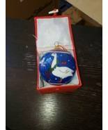 "Lot Of 50 ""LI BIEN"" Christmas Geese Reverse Handpainted Glass Ornament B... - $593.99"
