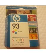 Genuine HP OEM 93 Ink Cartridge - Tri-Color - C9361WN - New • Aug 2008 •... - $6.79