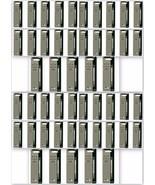 50 x Parker Quink Flow Ball Point Pen Refills BallPen Black Medium New S... - $66.99