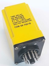 AMF Potter & Brumfield CDB-38-70016 Time Delay Relay  - $84.55
