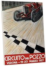 Pingo World 0616QPV6W3M Circuit del Pizza Car Racing Vintage Advertising Poster  - $138.55