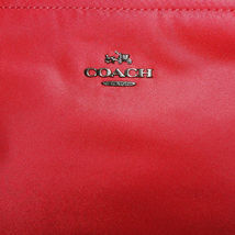 Coach Nylon Crossbody NWT True Red F22346 image 3