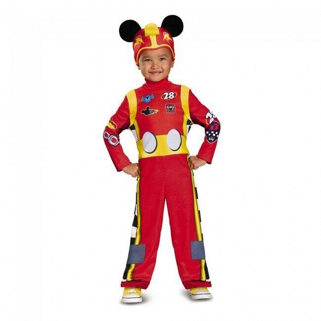 Disguise Mickey Mouse Roadster Coureur Classique Enfant Halloween Garçon Costume