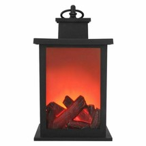 LED Flame Effect Lantern Lamps Warm Fireplace Lamps Home Castle Courtyar... - $23.98