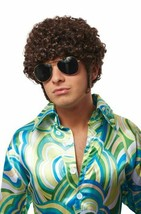 Costume Culture That 70s Guy Hyde Brown Wig Halloween Costume Accessory ... - £13.10 GBP