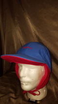 Vintage Columbia Men's  Bugaboo Interchangeable Camp Cap blue and red Large - $21.99