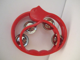 Clever Whistle Tambourine cymbal that sings Fun Musical & NOISY! by Pand... - $8.00