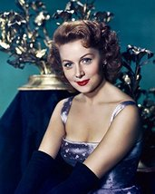 Rhonda Fleming in glamourous dress 16x20 Canvas Giclee - $69.99