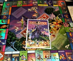 Monopoly - Property Trading Game From Parker Brothers - The Disney Edition  2001 image 8