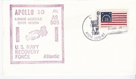 U.S.S. RICH APOLLO 10 AS 505 U.S. NAVY RECOVERY FORCE ATLANTIC MAY 26 1969 - $2.98