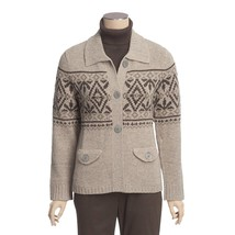 Woolrich Restless Brook Cardigan 100% Lambswool Sweater Plus Size 2X (22... - $1.010,16 MXN