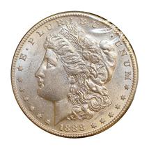 1888 S Morgan Silver Dollar - Gem BU / MS / UNC - $387.45