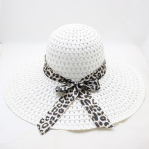 SUOGRY Wide Brim Lady Straw Hat Floppy 2016 Fashion Cap Summer Sun Women... - $9.98