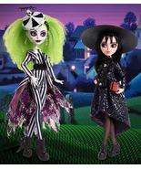 Mattel Creations Beetlejuice & Lydia Deetz Monster High Skullector Doll ... - $299.99