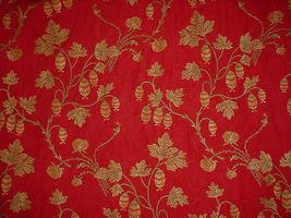 1Y BEAUTIFUL KRAVET LEE JOFA LANTERN FLORAL VINE BROCADE UPHOLSTERY FABRIC image 4