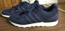 Adidas Neo Cloudfoam 2016 Men's Casual Athletic Navy blue Shoes AW5227 s... - $39.99