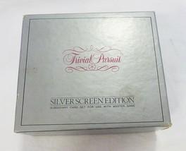 Vintage Trivial Pursuit Silbern Displays Edition Subsidiary Karte Set 1982 - $15.83