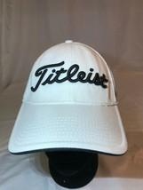 Titleist Pro V1 Footjoy FJ Golf Hat Cap Size L/XL Embroidered Logo White - $14.24