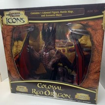 NEW Dungeons & Dragons D&D Icons COLOSSAL RED DRAGON LIMITED EDITION BOX... - $742.49