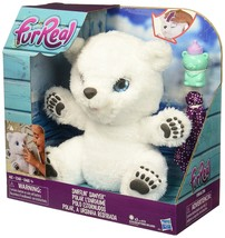 FurReal ,Friends ,Snifflin' ,Sawyer, Polar ,Bear, Plush, Toy ,interactive - $60.00