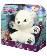 FurReal ,Friends ,Snifflin' ,Sawyer, Polar ,Bear, Plush, Toy ,interactive - $60.00