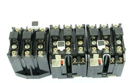 LOT OF 3 ALLEN-BRADLEY 592-JOV16 SER. A OVERLOAD RELAYS 3POLE, 120-600VAC