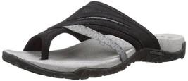 Merrell Women's Terran Post II Sandal, Black, 7 M US - $96.81 CAD