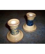 Pfaltzgraff China America Americana Set of 2 Candle Stick Holders Bases EUC - $18.69