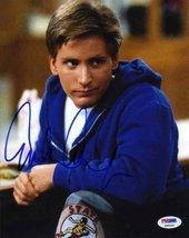 Emilio Estevez 'Breakfast Club' Signed 8x10 Photo Certified Authentic PSA/DNA CO - $197.99