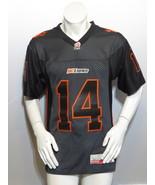 BC Lions Jersey - 2013 Alternate Gun Metal Jersey - Travis Lulay 14 - Me... - $95.00