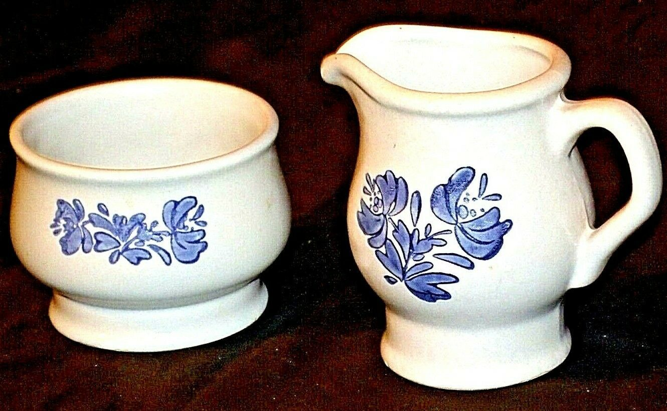 Pfaltzgraff Cream and Sugar Canister USA AA20-2131d Vintage