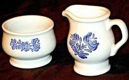 Pfaltzgraff Cream and Sugar Canister USA AA20-2131d Vintage image 1