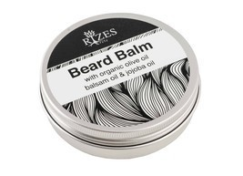 Beard balm with organic olive oil, balsam oil and jojoba oil. - $23.94