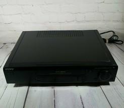SONY SLV-765HF - VIDEO CASSETTE RECORDER (VCR) - HI-FI STEREO - 4 HEAD -... - $40.12
