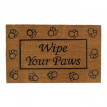 Wipe Your Paws Welcome Mat - $23.94