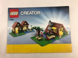Lego Creator 5766 Instruction Booklets / Manuals Only 2011 - $8.15