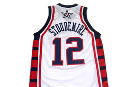 Amare Stoudemire #12 Team USA Basketball Jersey White Any Size image 2