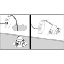 Housing-Free 6 in. Nickel Integrated LED Recessed Downlight Kit in 3000K - $62.81