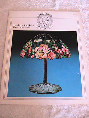Primary image for Antique catalog/brochure/book Christie's Forthcoming Sales December1982